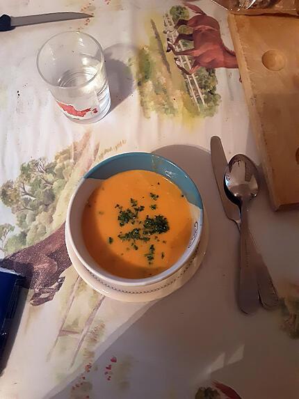 recette Soupe de courge simple et très veloutée