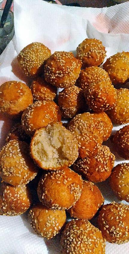 recette Bonbon Millet (Ile de la Réunion)
