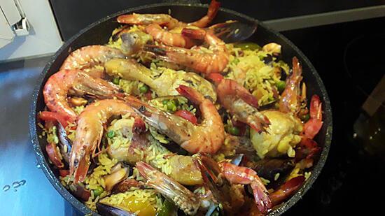 recette Ma première paella