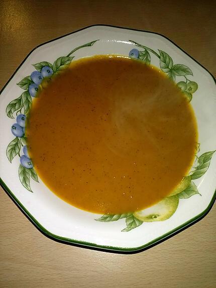recette Velouté de potiron et noisettes ( Thermomix )