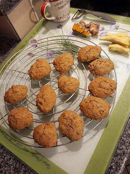 recette Cookies carotte