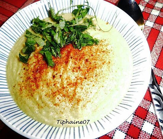 recette Crémeux de chouchou au curry
