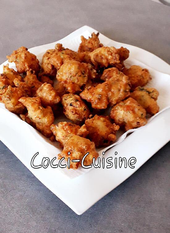 recette Acras de crevettes