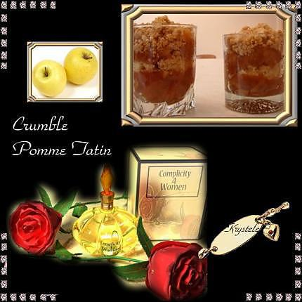 recette Crumble pommes/tatin