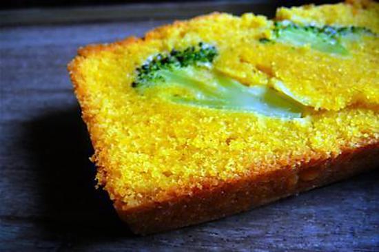 recette Cake au curcuma et brocolis de Rose Bakery