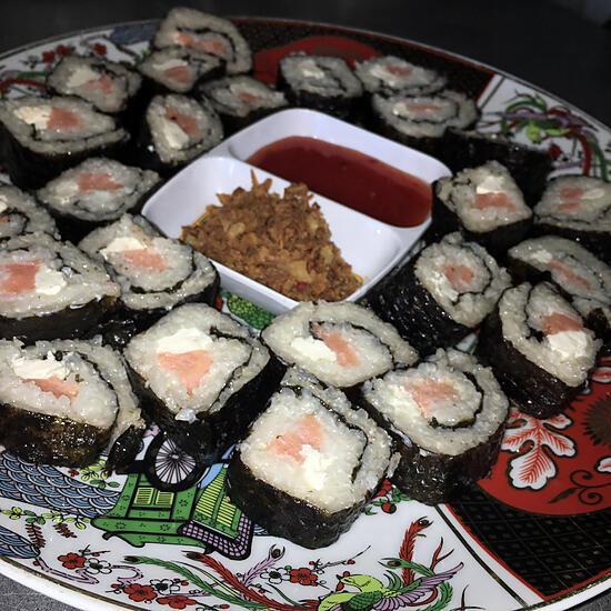 recette Sushis saumon frais kiri
