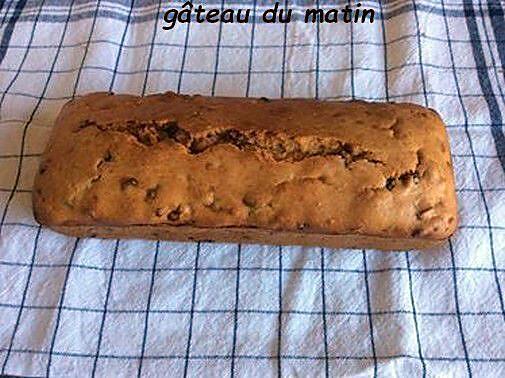 recette gâteau du matin