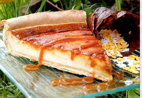 recette Ooo Tarte légère mirabelle et caramel ooO