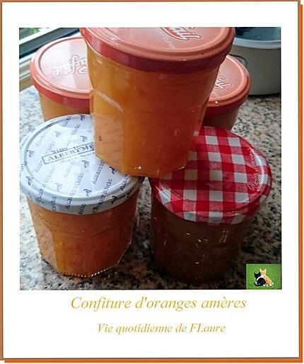 recette Confiture d'oranges amères