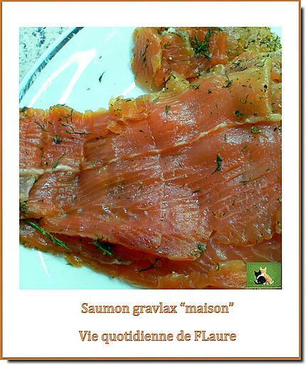 recette Saumon gravlax, facile et délicieux, maison