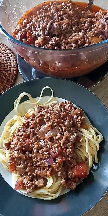 recette Bolognaise maison