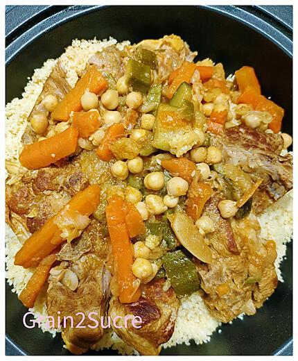recette Couscous d'Agneau aux Légumes