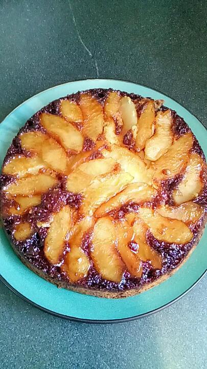 recette gateau fondant aux pommes caramélisées