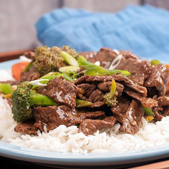 recette Plat Thaïlandais au boeuf et curry