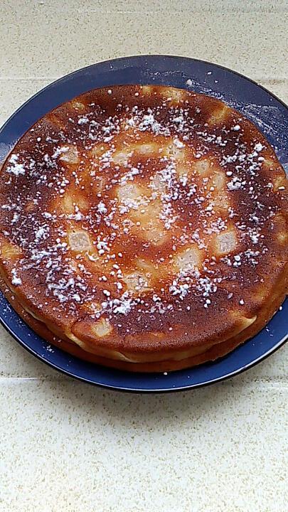 recette gateau a la faisselle et aux fruits