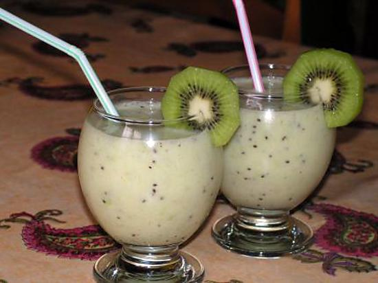 recette de smoothie banane kiwi. Black Bedroom Furniture Sets. Home Design Ideas