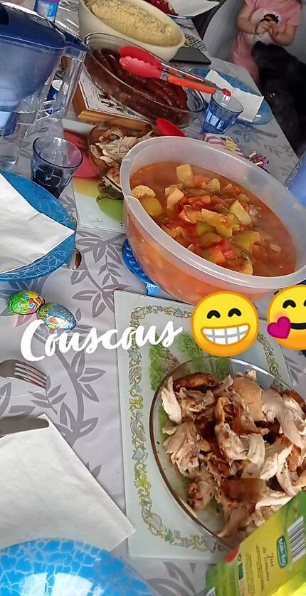 recette Couscous de Claude