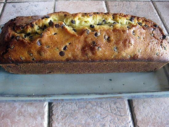 recette Cake pépites de chocolat au yaourt