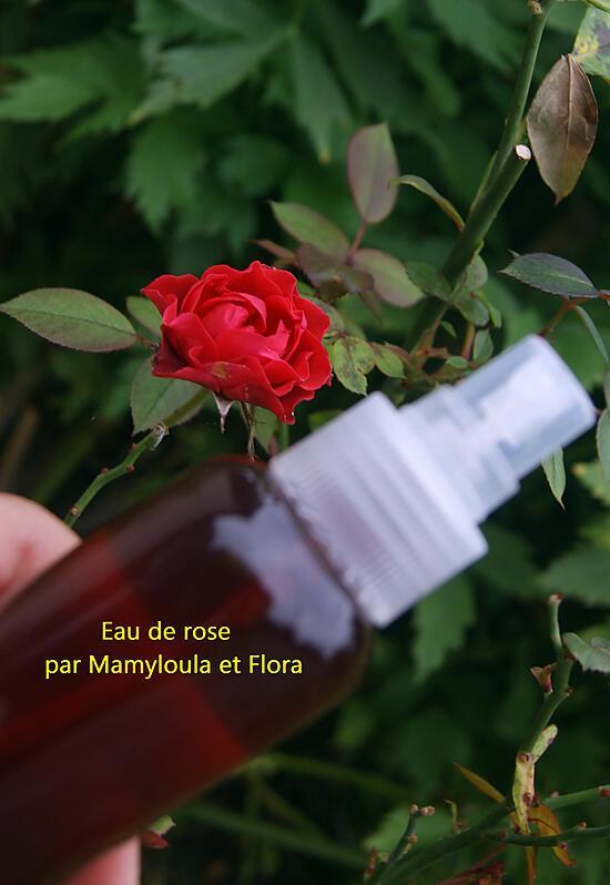 recette Eau de rose