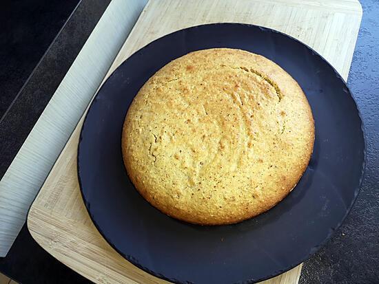 recette gateau moelleux aux noisettes et miel de vece helena