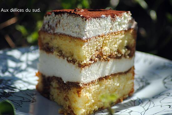 recette Gâteau tiramisu .