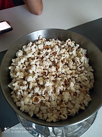 recette Pop corn salé et sucré