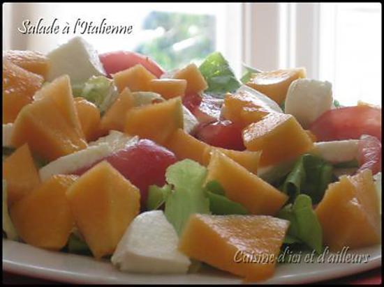recette Salade à l'Italienne