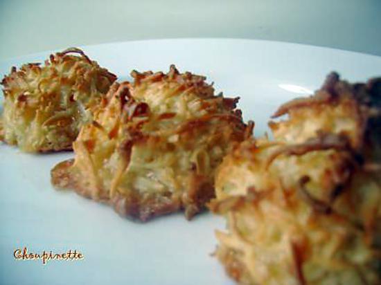 recette ~Macarons à la noix de coco du Chef Michael Smith~