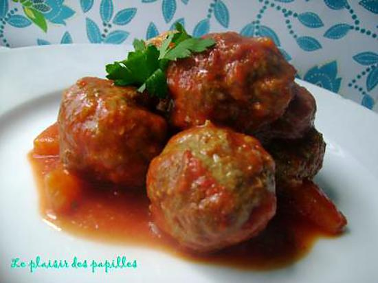 recette de boulettes de viande sauce aigre douce. Black Bedroom Furniture Sets. Home Design Ideas