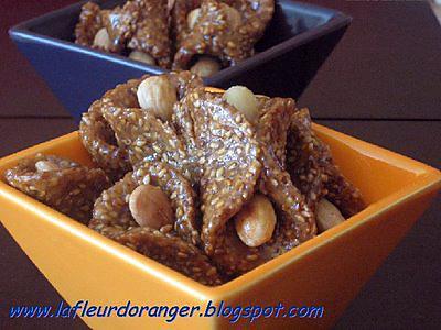 recette Babouches aux sésame et miel