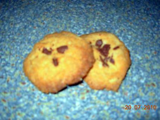 recette cookies lait chocolat