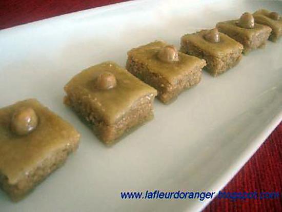 recette Baklawa aux amandes et noix