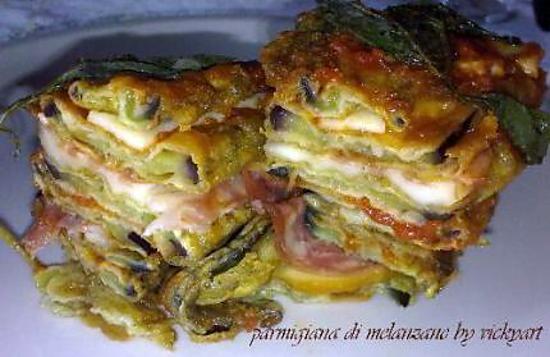 recette Aubergines au parmesan