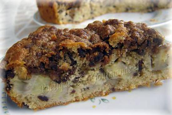 recette Gâteau croustillant aux bananes et chocos pop's
