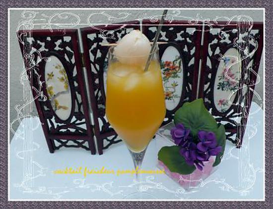 recette cocktail fraicheur pamplemousse
