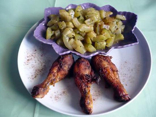 recette Cuisses de poulet mexicaine