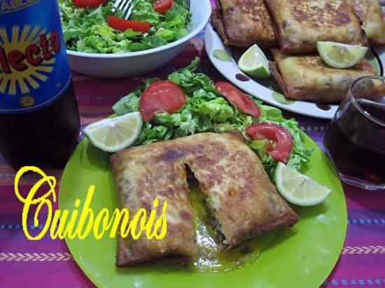 recette Bourek annabi à la viande hachée.