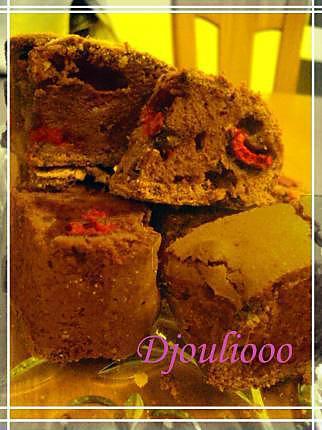 recette Brownie extra-fondant choco-framboises