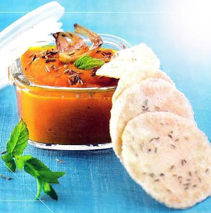 recette Dip de carottes à la touareg