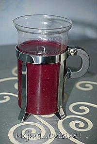 recette smoothie à la betterave