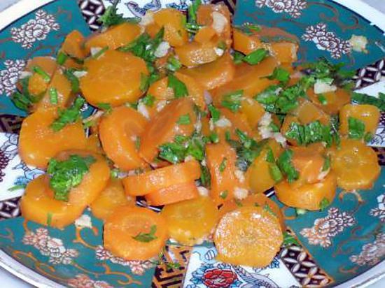 salade carotte a l ail simple et rapide