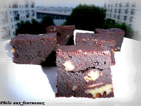 recette Brownies au sirop d'érable & aux noix de pécan