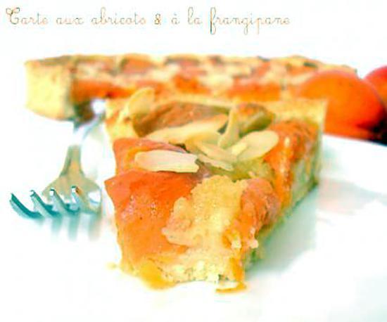 Recette de tarte aux abricots la frangipane - Recette de tarte aux abricots ...