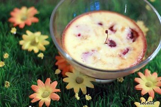 recette Coupelles express de cheesecake (sans pâte) aux cerises
