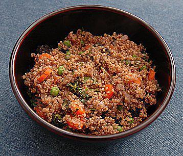 recette Quinoa aux petits légumes