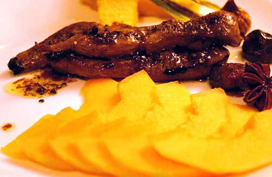 aiguillettes de canard recette