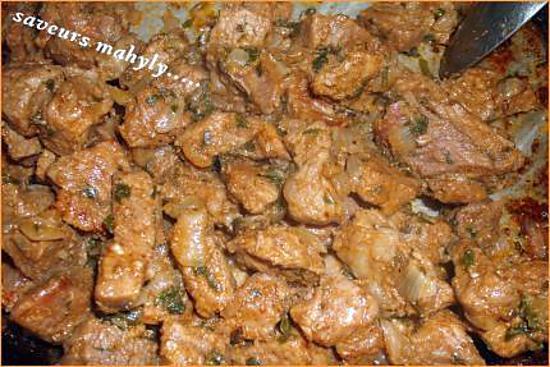 recette viande poéléé bien faite vite faite...