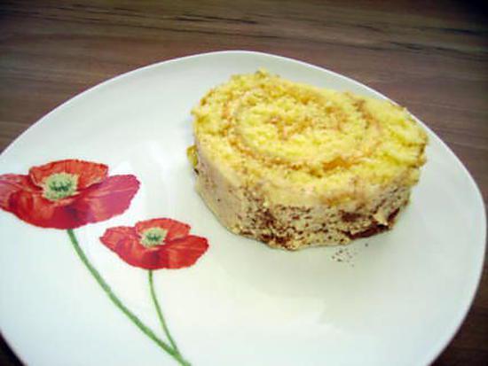 recette gâteau roulé façon tiramisù