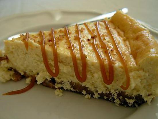 recette Cheese cake vanillé