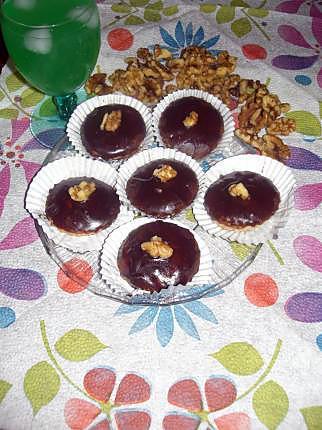 recette Mkhabez noix amandes